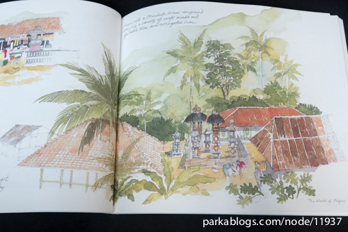 Bali Sketchbook by Graham Byfield - 09