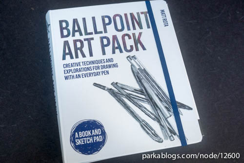 Ballpoint Art Pack: Creative Techniques and Explorations for Drawing with an Everyday Pen - 01