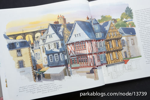 Brittany Sketchbook by Fabrice Moireau - 03