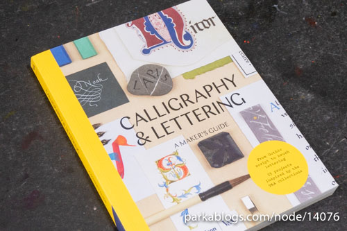 Calligraphy and Lettering: A Maker's Guide - 01