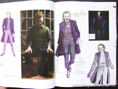 The Dark Knight: Featuring Production Art and Full Shooting Script - 01