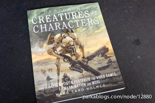 Designing Creatures and Characters: How to Build an Artist's Portfolio for Video Games, Film, Animation and More - 01