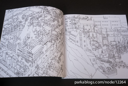 Fantastic Cities: A Coloring Book of Amazing Places Real and Imagined - 03