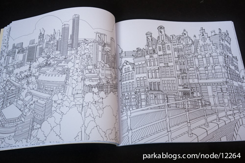 Fantastic Cities: A Coloring Book of Amazing Places Real and Imagined - 09