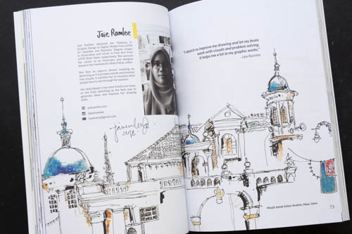 Garis: An Anthology of Sketches by Johor Sketchers - 07