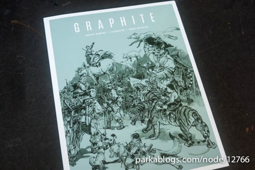 GRAPHITE 1 Magazine by 3DTotal - 01