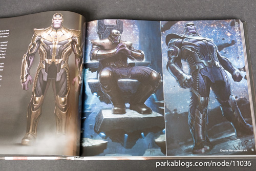Marvel's Guardians of the Galaxy: The Art of the Movie - 07