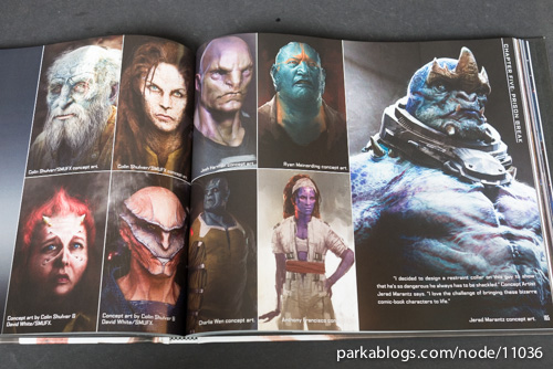 Marvel's Guardians of the Galaxy: The Art of the Movie - 13