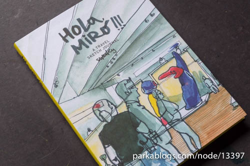 Hola, Miró!!! A Travel Sketch Journal by Swasky - 01