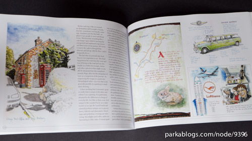 An Illustrated Journey: Inspiration From the Private Art Journals of Traveling Artists, Illustrators and Designers - 13