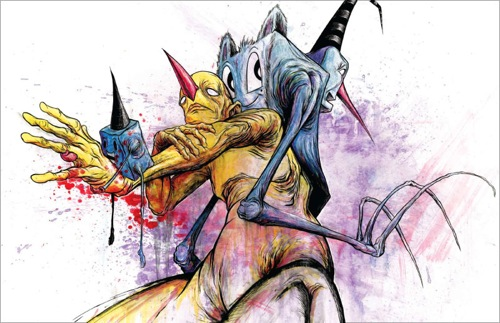 Awful / Resilient: The Art of Alex Pardee - 06