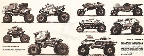 DRIVE: vehicle sketches and renderings by Scott Robertson - 08