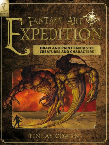 Book Review: Fantasy Art Expedition: Draw and Paint Fantastic Creatures and Characters ...