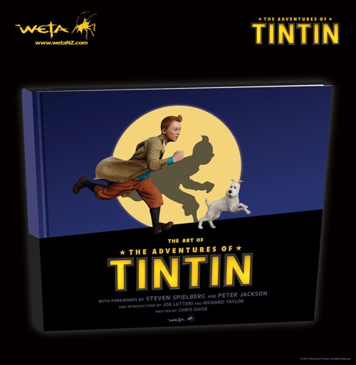 The Art of 'The Adventures of Tintin'