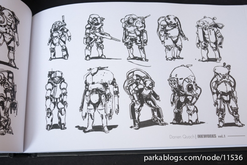 Inkworks: Darren Quach Sketchbook Vol. 01 - 07