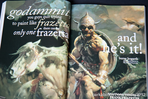 Legacy: Selected Paintings and Drawings by Frank Frazetta - 05