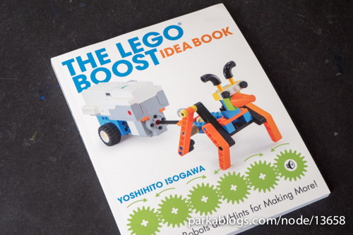 The LEGO BOOST Idea Book: 95 Simple Robots and Hints for Making More! - 01