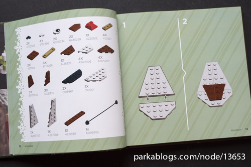 The LEGO Christmas Ornaments Book, Volume 2: 16 Designs to Spread Holiday Cheer! - 05