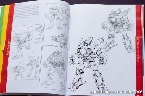 Mecha Zone 2: The Art of David A. White - 04