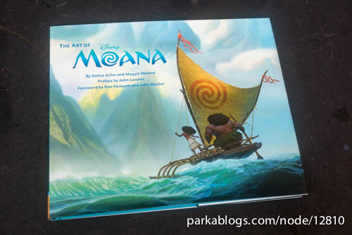 The Art of Moana - 01