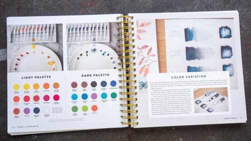 Modern Watercolor Botanicals: A Creative Workshop in Watercolor, Gouache, & Ink - 06