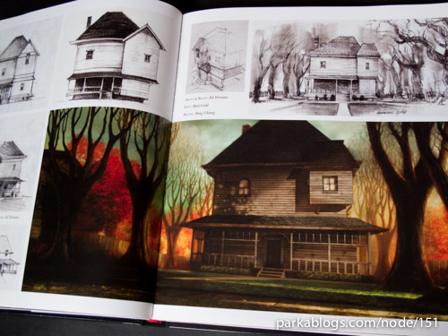 Book Review The Art Making Of Monster House Parka Blogs