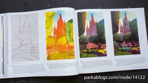 How to Paint Landscapes Quickly and Beautifully in Watercolor and Gouache - 14