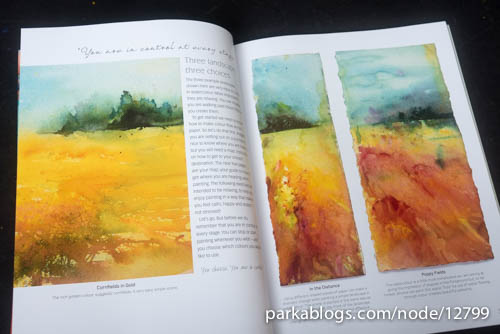 Jean Haines' Paint Yourself Calm: Colourful, Creative Mindfulness Through Watercolour - 05