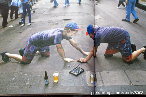 Pavement Chalk Artist: The Three-Dimensional Drawings of Julian Beever - 09