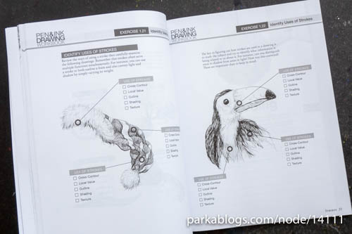 Pen and Ink Drawing Workbook - 04