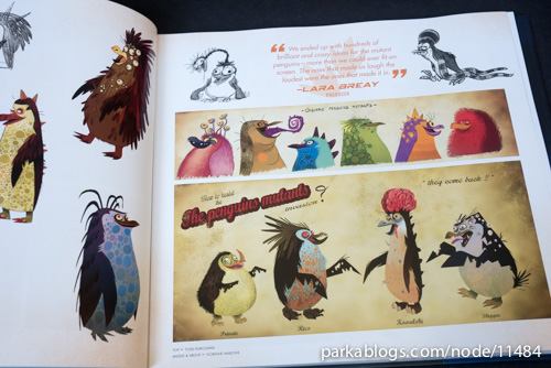 The Art of Penguins of Madagascar - 05