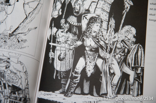 Reflections of Myth: The Larry Elmore Sketchbook Volume One - 09