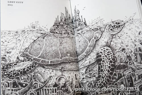 Sketchy Stories: The Sketchbook Art of Kerby Rosanes - 14