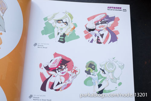 The Art of Splatoon - 03