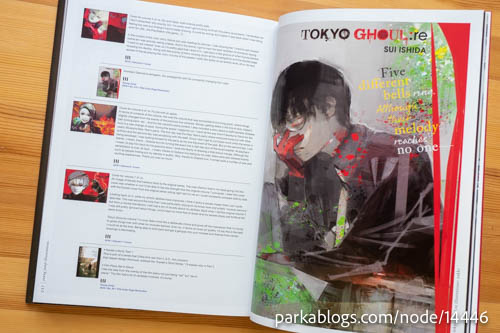 Tokyo Ghoul:re Illustrations by Sui Ishida - 05