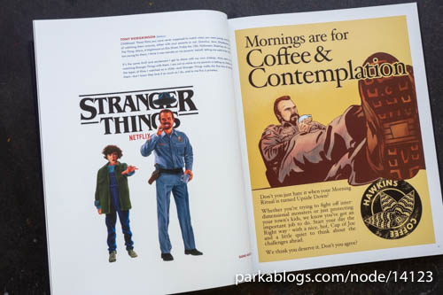Visions from the Upside Down: Stranger Things Artbook - 07