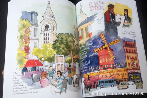 Watercolors of Paris by Joaquin Dorao - 12