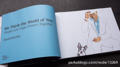 We Think the World of You: People and Dogs Drawn Together by David Remfry - 02